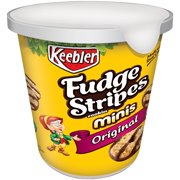 Keebler Fudge Stripes Minis Original Cookies 3.0 Oz