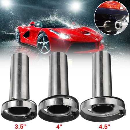 Universal Car Insert Removable Stainless Steel Exhaust Silencer Muffler Killer 3.5
