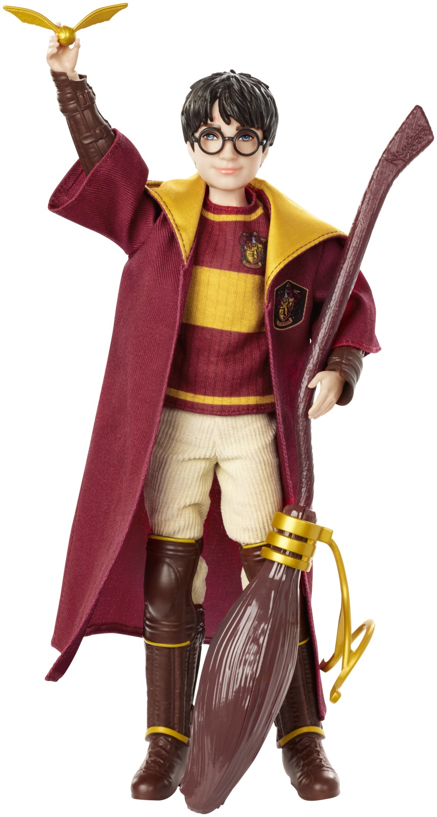 Harry Potter Quidditch Harry Potter Doll with Nimbus 2000 Broomstick by Mattel