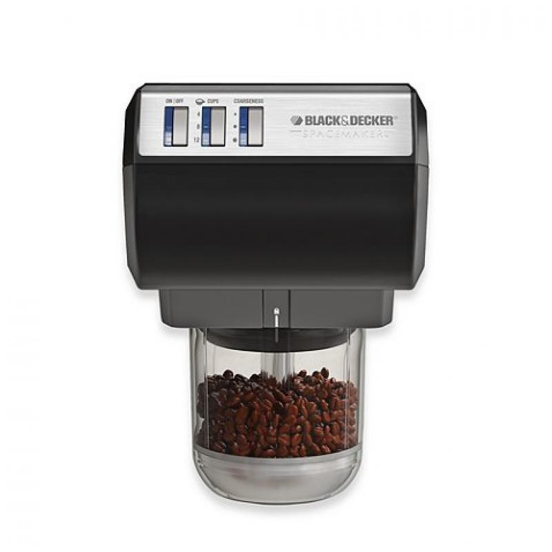 Black & Decker CG700 Spacemaker Coffee Grinder & Chopper by