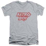 Astro Boy Logo Mens V-Neck Shirt