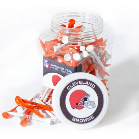 Cleveland Golf Shirts - Team Golf NFL Cleveland Browns Jar Of 175 Golf Tees