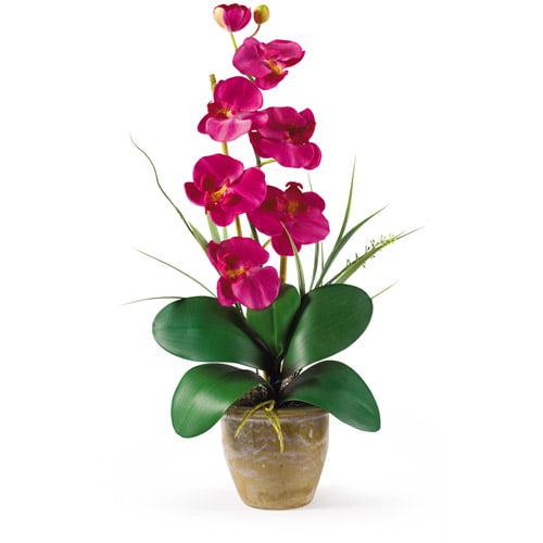 Phalaenopsis Silk Orchid Flower Arrangement, Beauty