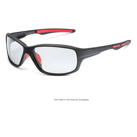 - Photochromic Sunglasses Mens Polarized Eyewear Transition Lens Driving Glasses