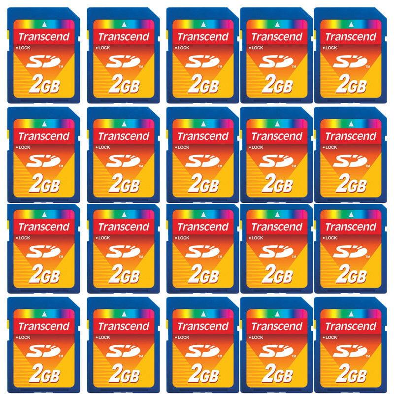 20 Pack Secure Digital SD 2GB 2 GB Memory Card