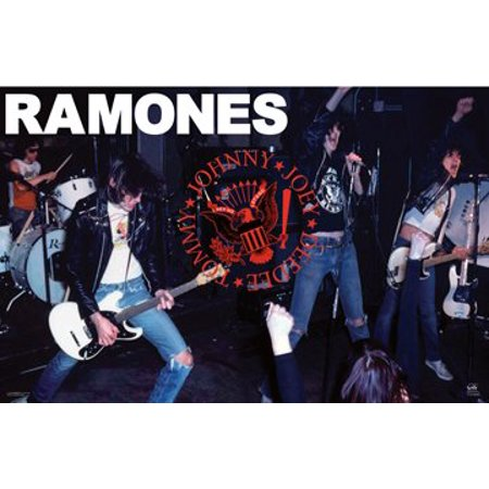 The Ramones Live Poster - Punk Rock New 24x36