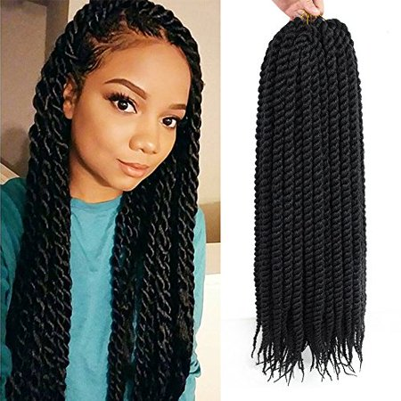 Havana Mambo Twist Crochet Hair Braids