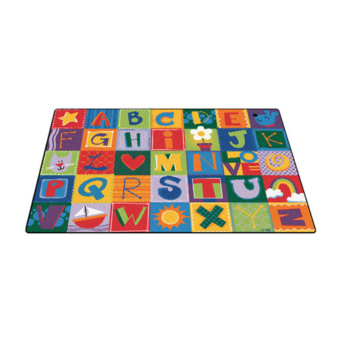 Carpets for Kids Toddler Alphabet Blocks Area Rug
