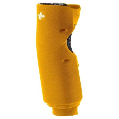 Adams USA Trace Long Style Softball Knee Guard - Gold - XS