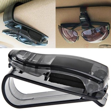 Car Sun Visor Glasses Sunglasses Ticket Receipt Card Clip Storage (Sunglass Holder For Car Visor)