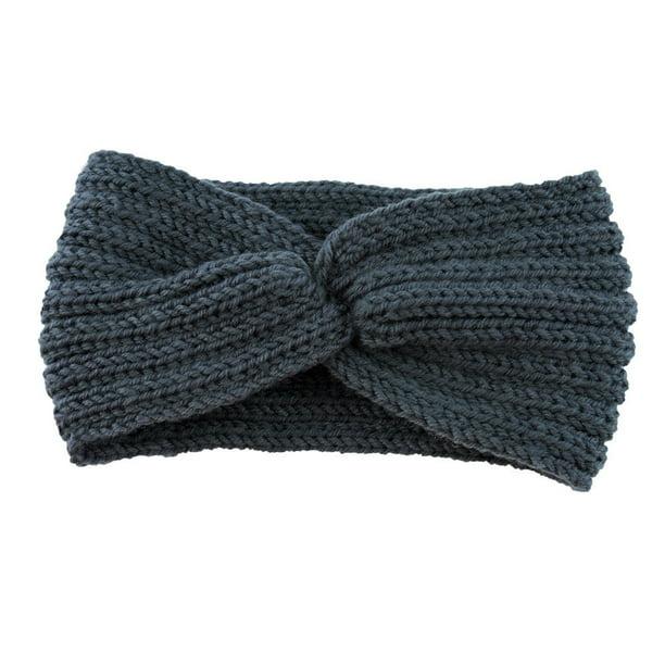 Kids Flowers Crochet Knitted Beanie hairband bandeaux headband Hair band  NEW