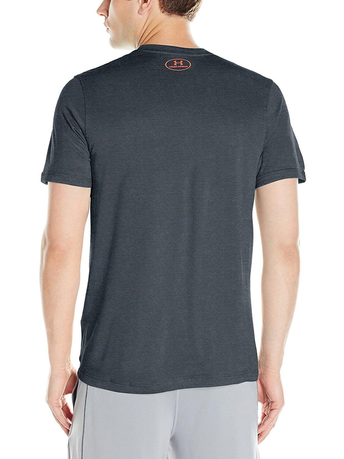 Under Armour Men/'s UA Tech V-Neck Short Sleeve T-Shirt Midnight Navy Small