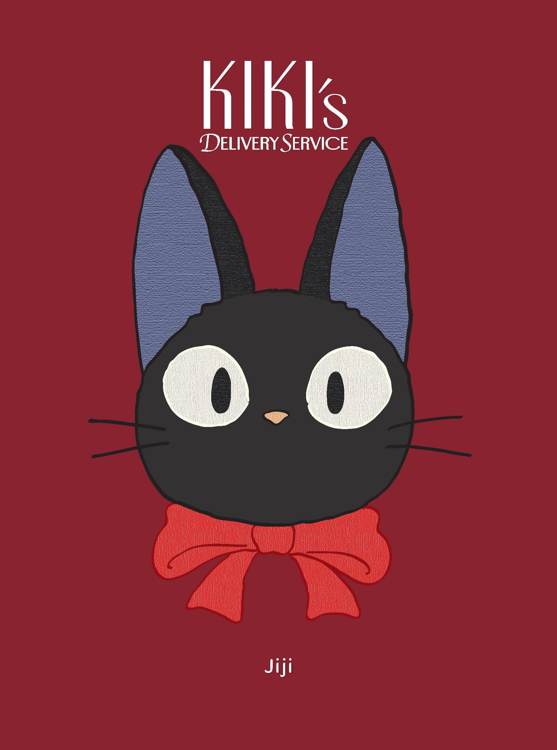 Kiki S Delivery Service Jiji Plush Journal Textured Journal Japanese Anime Journal Cat Journal Walmart Com Walmart Com