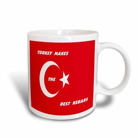 - 3dRose Turkish Chefs, Ceramic Mug, 11-ounce