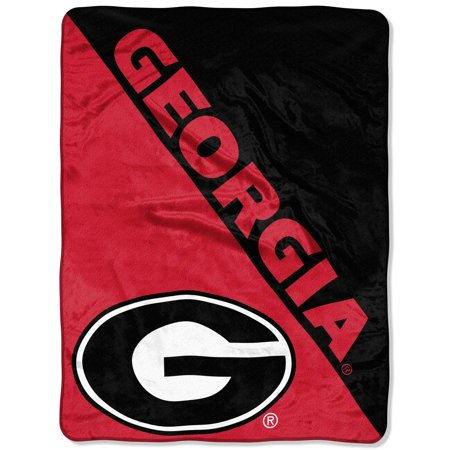 "- NCAA Georgia Bulldogs ""Halftone"" 46""x 60"" Micro Raschel Throw"