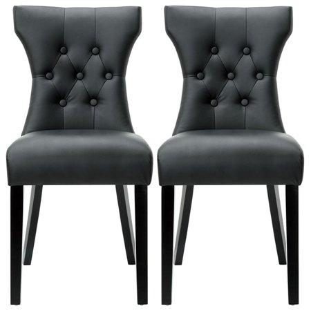 Hawthorne Collection Dining Chair in Black (Set of (Chiara Collection)