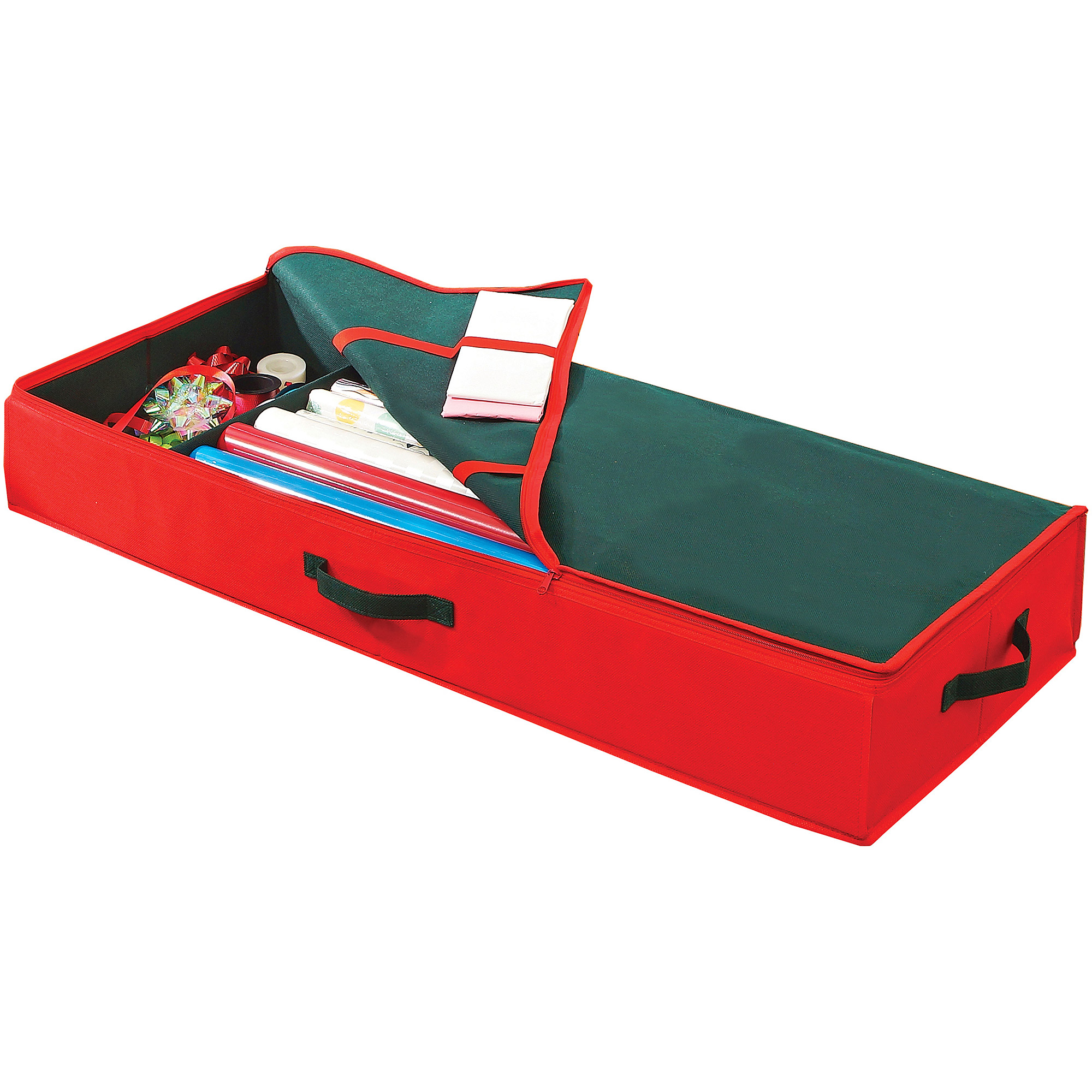 Simplify Christmas Gift Wrap Box/Organizer, Red