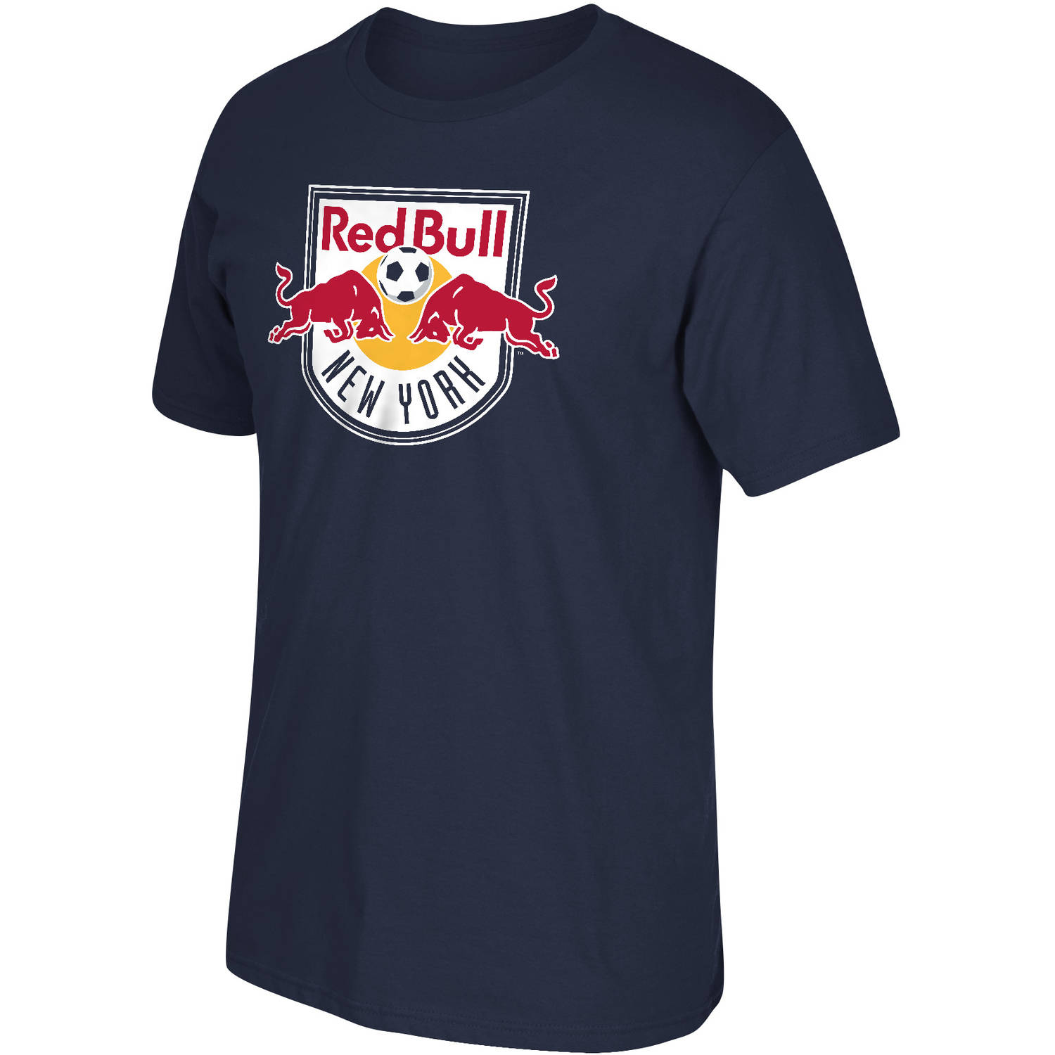 MLS-New York Red Bulls-Men's-Logo Tee