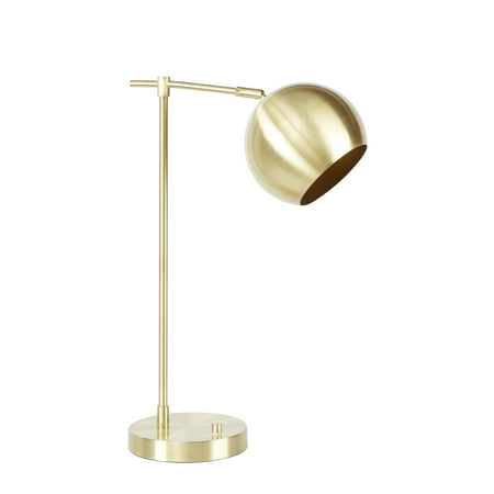 Better Homes & Gardens Orb Desk Lamp Mulitple Finishes - Gold Desk Accessories
