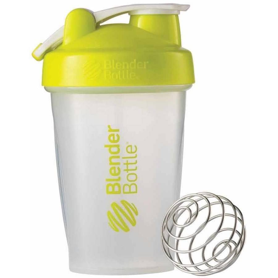 BlenderBottle 20-Ounce Classic Bottle with Loop, Green