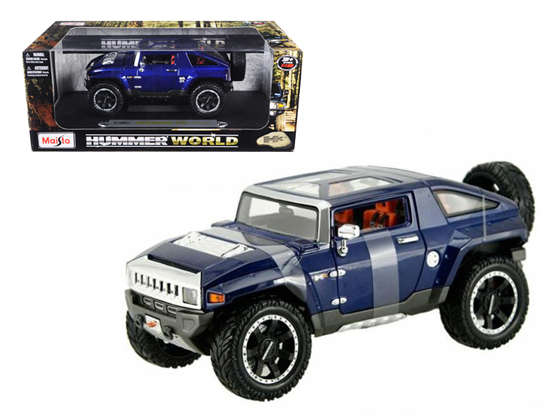 Hummer HX Concept Blue 1 18 Diecast Model Car by Maisto by Diecast Dropshipper