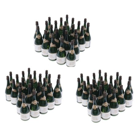 72 Mini Champagne Bottles Wedding Bubbles New Years Eve Graduation Party Favors - New Years Eve Theme