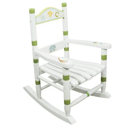 Fantasy Fields Kids Alphabet Rocking Chair - Rocker Child