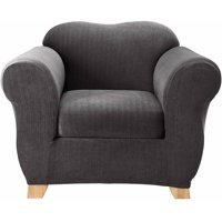 Product Image Sure Fit Stretch Pinstripe Chair Slipcover