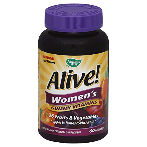 Alive - Womens Multivitamin Chewable Gummies 60 Ct (4 Pack)