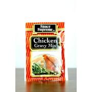 Pack of 24 Sauce Supreme Chicken Gravy Seasoning Mix 1 oz. #30004