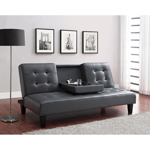Julia Cupholder Convertible Futon, Multiple Colors by Dorel Home Products