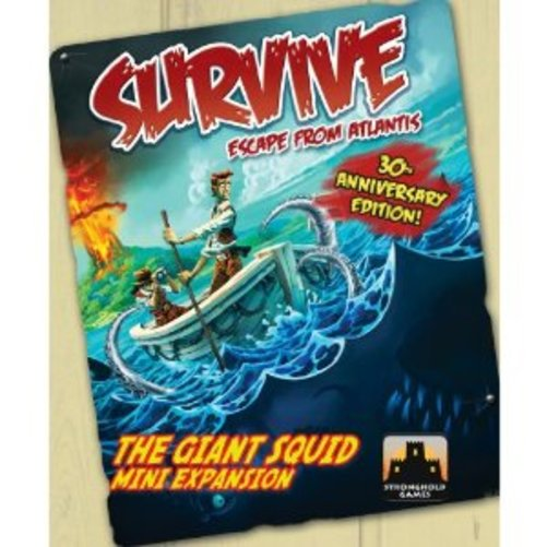 Survive The Giant Squid Expansion Multi-Colored