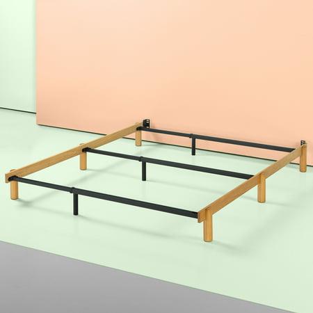 Zinus Austin Adjustable Wood And Metal Compack Bed Frame