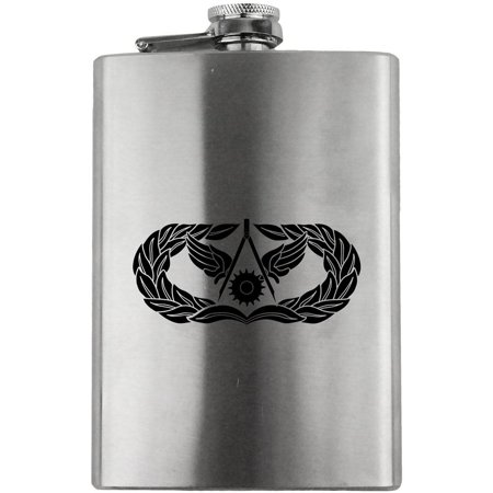Air Force Civil Engineer (Civil Engineer Badge Air Force Veteran 8oz. Flask)