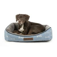 "Vibrant Life 21"" x 27"" Luxe Cuddler Pet Bed, Medium"