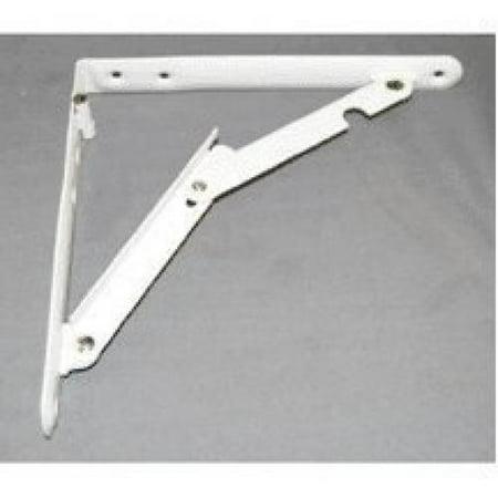 Folding Flash Bracket (Ultra Hardware 11030 Folding Bracket 8 x 8-in White )