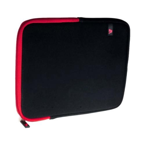 "V7 Ultra TD23BLK-RD-2N Carrying Case (Sleeve) for 10.1"" iPad, Tablet PC - Black 2NF5464"