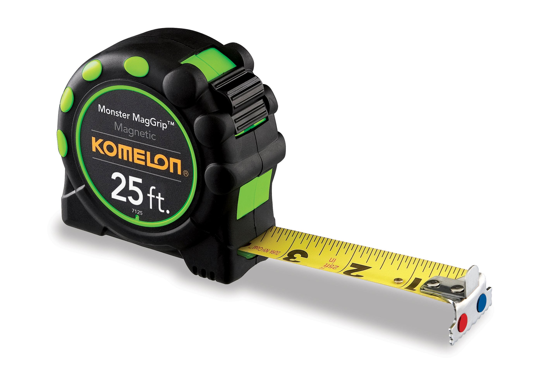 Komelon 7125 25ft Monster Magnetic Tape Measure by Komelon