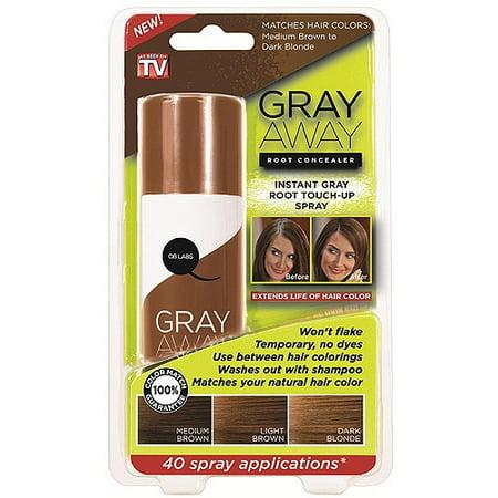 As Seen on TV Gray Away Light Brown Root Concealer