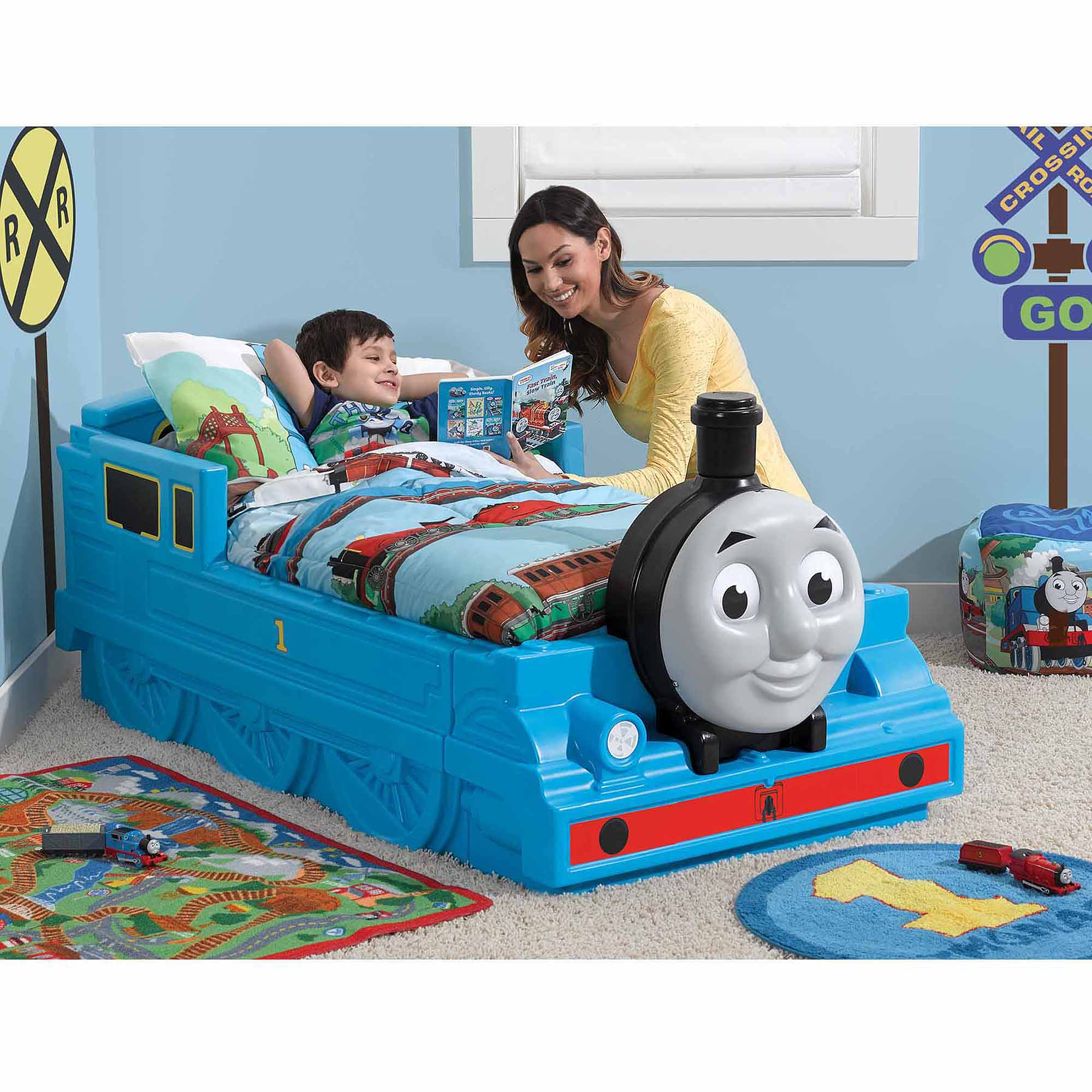 Thomas The Tank Engine Toddler Bed   Walmart.com