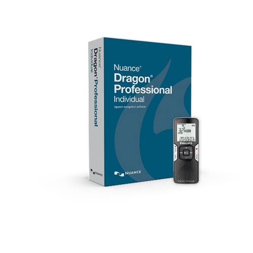 Nuance DRAGON PRO Individual with Digital Recorder K809A-GC3-14.0