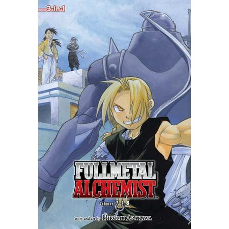 Fullmetal Alchemist (3-in-1 Edition), Vol. 3 : Includes vols. 7, 8 & (Including Metal)