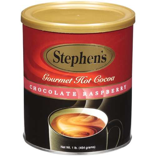 Stephen's Chocolate Raspberry Gourmet Hot Cocoa, 1 lb