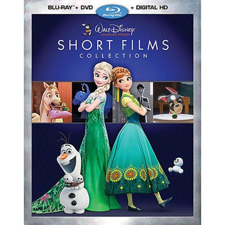 Walt Disney Animation Studios Short Films Collection (Blu-ray + DVD + Digital HD) (Film D'halloween Disney En Streaming)