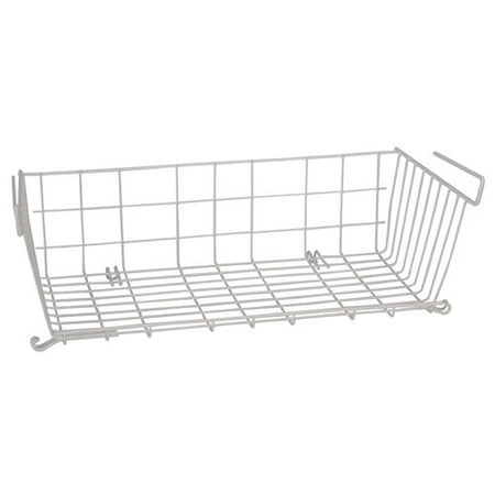 Panama Storage - Panacea Vinyl Coated Wire Undershelf Storage Basket