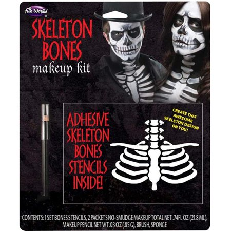 Hot Cat Halloween Makeup (Skeleton Bones Halloween Makeup)