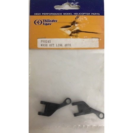 Was A Model Ship - PV0245 Wash Out Link 4870 Model Hrlicopter Part By Thunder Tiger-RARE-SHIP N 24H