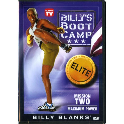 BILLY BLANKS TAE BO BOOTCAMP ELITE MISSION 2 MAX POWER by GAIAM INC