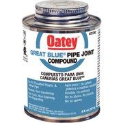 Oatey Great Blue 8 Fl. Oz. Blue Pipe Compound 31262