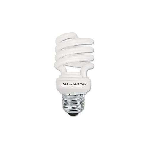Compact Fluorescent Mini Lynx Spiral Light Bulb, 13 Watts